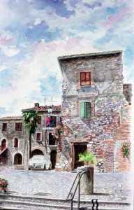 Casteltodino, scorcio