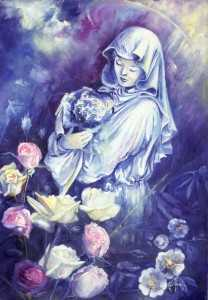 vergine maria delle rose