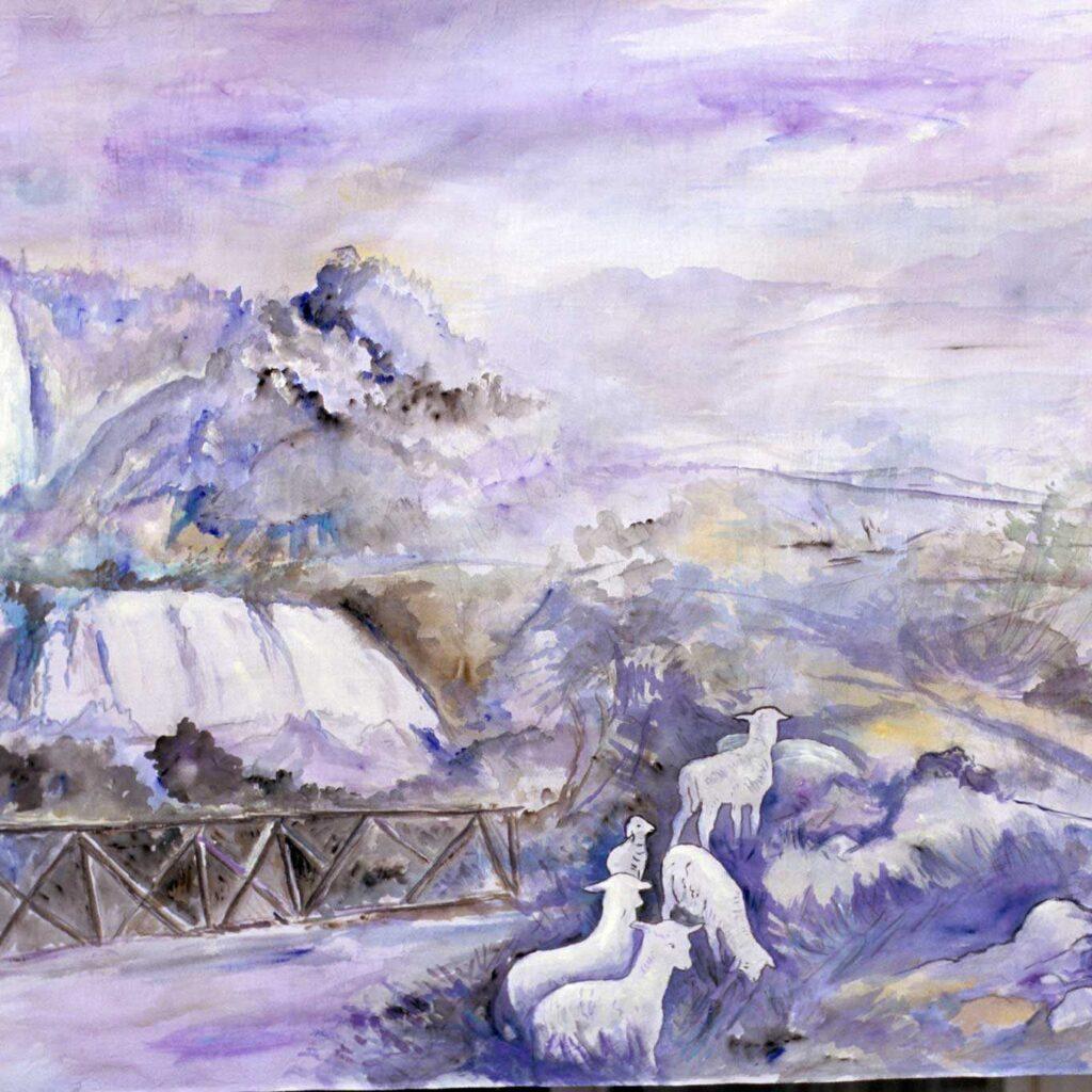 Presepe In Acciaieria, La Cascata Delle Marmore