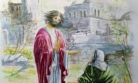 Gesù incontra la Maddalena