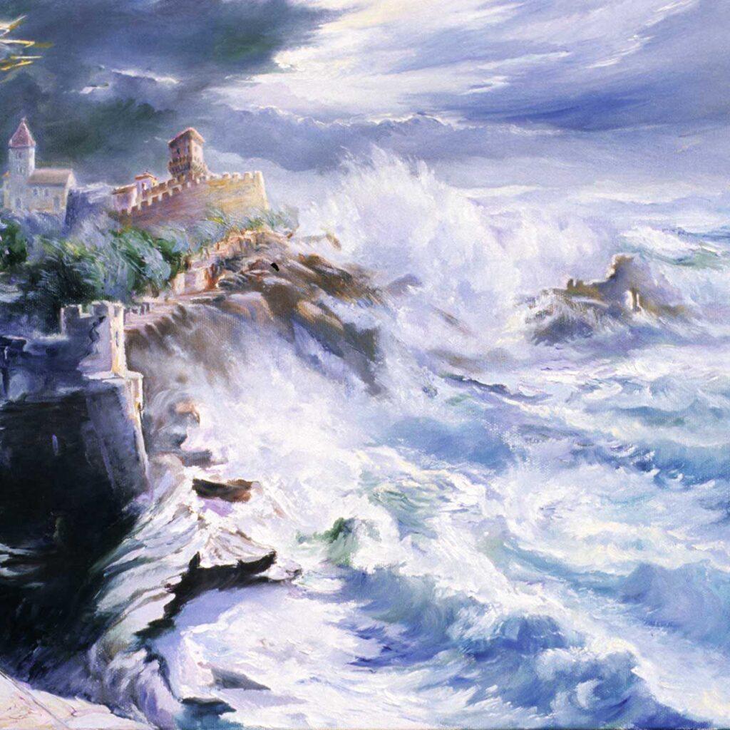 Mareggiata A Portovenere