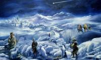 I pastori presso la grotta di Betlemme