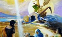 Via Crucis, Gesù è deposto dalla Croce