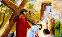 Via Crucis, Gesù incontra le donne di Gerusalemme