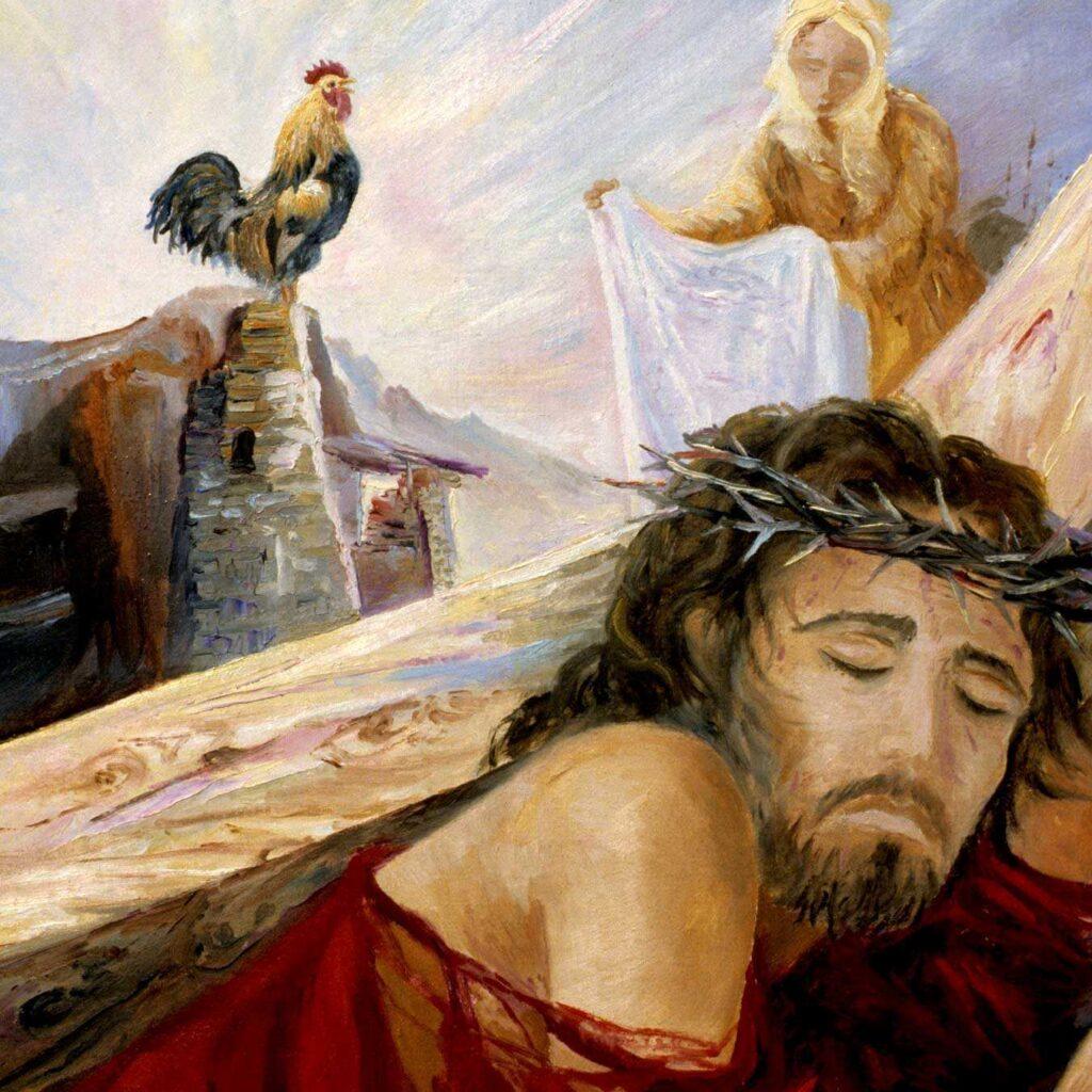 Via Crucis, Gesù Cade La Seconda Volta