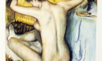 Omaggio a Edgar Degas, Femme se peignant