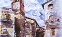 Quadrelli (TR), scorcio con campanile
