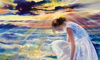 giovanni ferri, terni, illuminazione d'amore, olio su tela, 60 x 80 cm